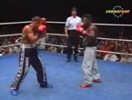 Profi-WM-Fight 1991 / Kuhr vs. Gilbert Ballentine (NL)